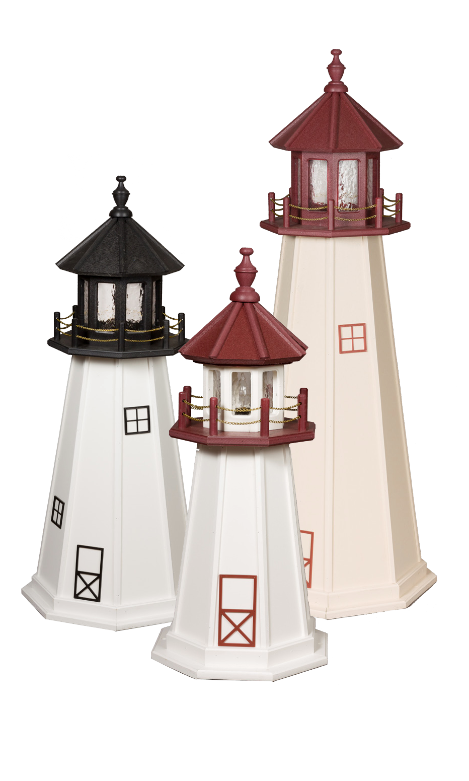 Marblehead Wooden Lighthouse Group