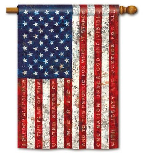 Pledge of Allegiance Standard Flag