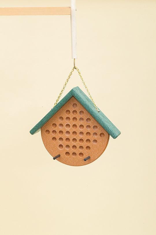Polywood Peanut Butter Feeder - Cedar/Green