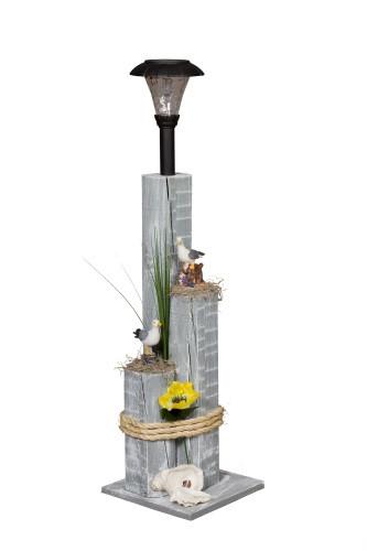 Sea gull Nautical Solar Post