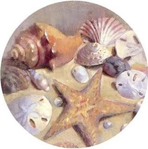 Sea Shells Coaster Set