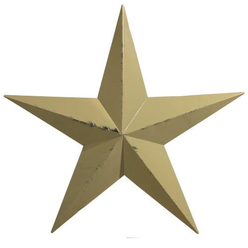 """40"""" Decorative Amish Barn Star - Sage"""