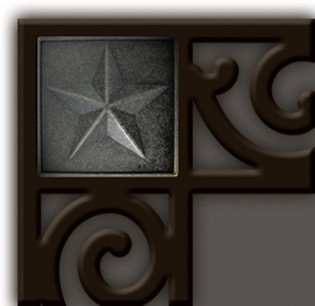 Star Corner Rubber Tray Addon