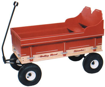 Valley Road Speeder Wagon - Model #6500 shown with added single seat