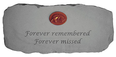 Forever Remembered, Forever Missed with Symbol