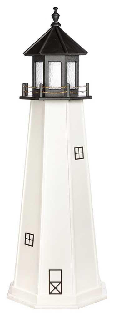 6' Cape Cod Polywood Lighthouse