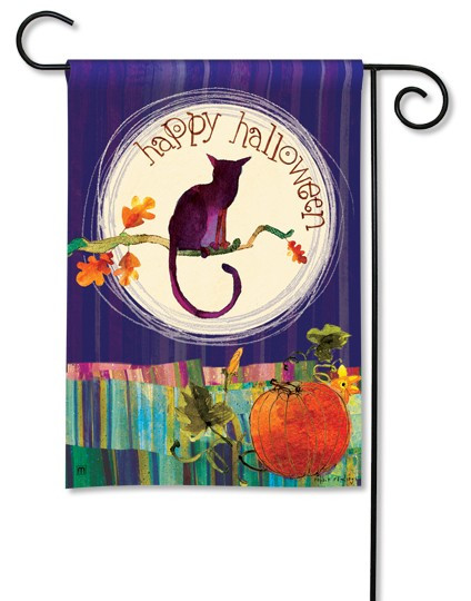 Full Moon Garden Flag