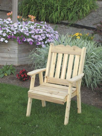 Cedar Royal English Dining Chair