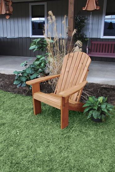 Cedar Fanback Adirondack Chair