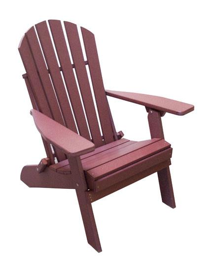 Folding/Reclining Poly Adirondack Chair