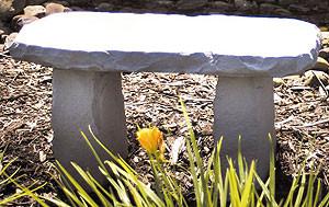 Cast Stone - Medium Bench