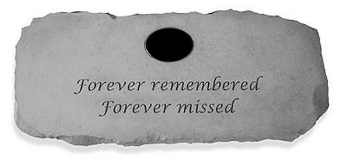 Forever remembered, Forever missed...Memorial Garden Bench