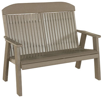 Poly Classic Highback Bench