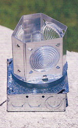 Revolving Lawn Lighthouse Light