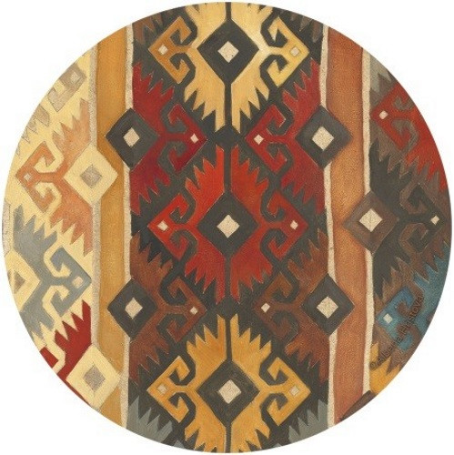 Southwest Pattern Coaster Set