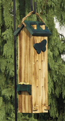 Tall Butterfly Birdhouse