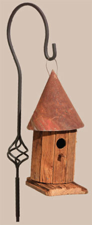 Witches Hat Birdhouse