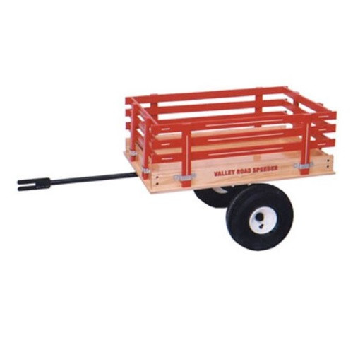 Valley Road Speeder Wagon Trailer - Model #6500T - Red