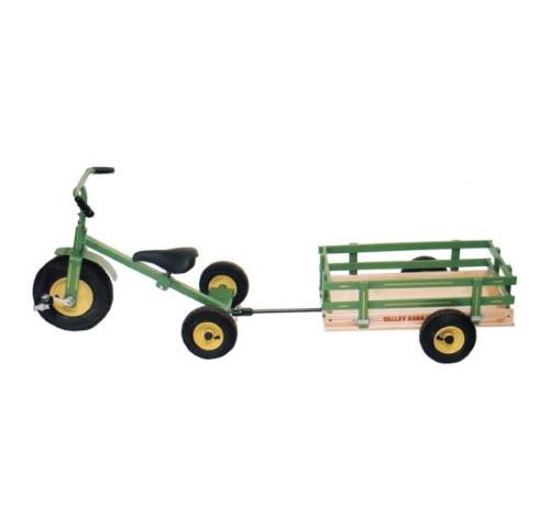 Valley Road Speeder Trike Trailer - Model #100AT - Green (Trike sold separately)