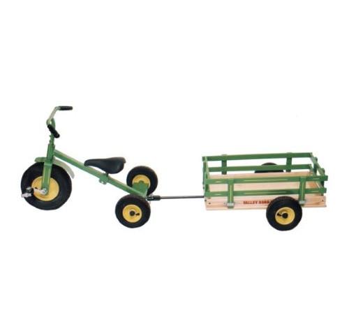 Valley Road Speeder Trike Trailer - Model #100AT - Green (Trike sold separately)