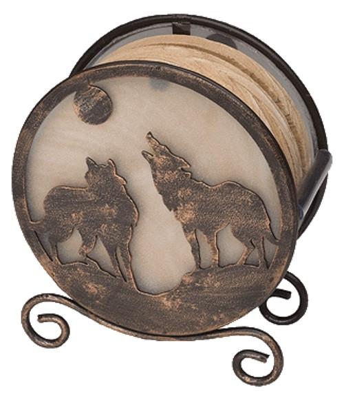 Wolves Coaster Holder