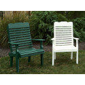 Poly Curve Back Chair