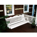 4' Royal English Garden Yellow Pine Porch Swing