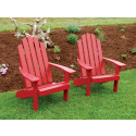 Kennebunkport Yellow Pine Adirondack Chair