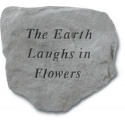 The earth laughs in flowers...Decorative Garden Stone