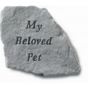 My Beloved Pet Memorial Garden Stone