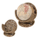 Seagrass Pedastal Coaster Holder