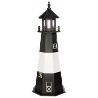 6' Tybee Island Wooden Lighthouse