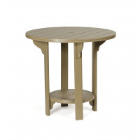 "42"" Pub Table - Weatherwood"
