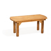 Poly English Coffee Table - Cedar