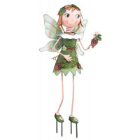 Fairy - Green Kinetic 3-D Garden Stake