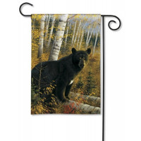Black Bear - Garden Flag