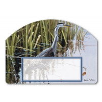 Blue Heron Yard Sign