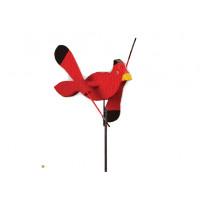 Cardinal Whirlybird Garden Stake
