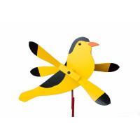 Gold Finch Whirlybird Garden Stake