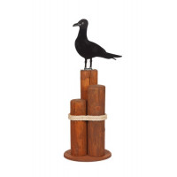 Small Gull Decorative Pier Post