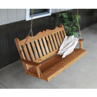 4' Cedar Royal English Garden Swing