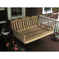 6' Cedar Royal English Garden Swingbed