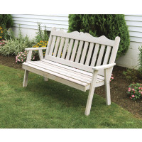 4' Cedar Royal English Garden Bench