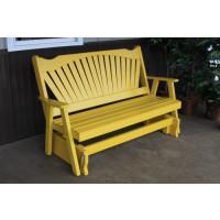 4' Fanback Yellow Pine Glider - Canary Yellow