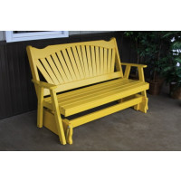 6' Fanback Yellow Pine Glider - Carnary Yellow