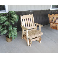 Cedar Royal English Glider Chair