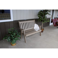 4' Traditional Poly English Bench