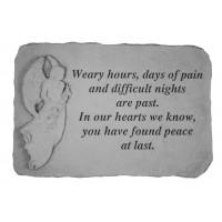 Weary hours...