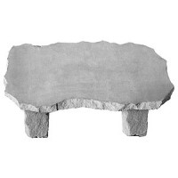 Cast Stone - Large Bench