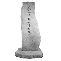 Cast Stone - Address Totem
